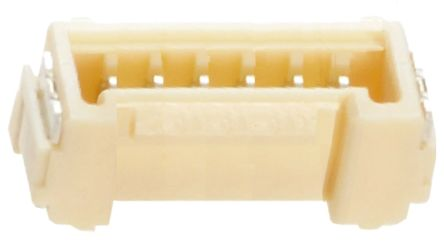 Molex , Micro-Lock, 504194, 6 Way, 1 Row, Straight PCB Header (10)