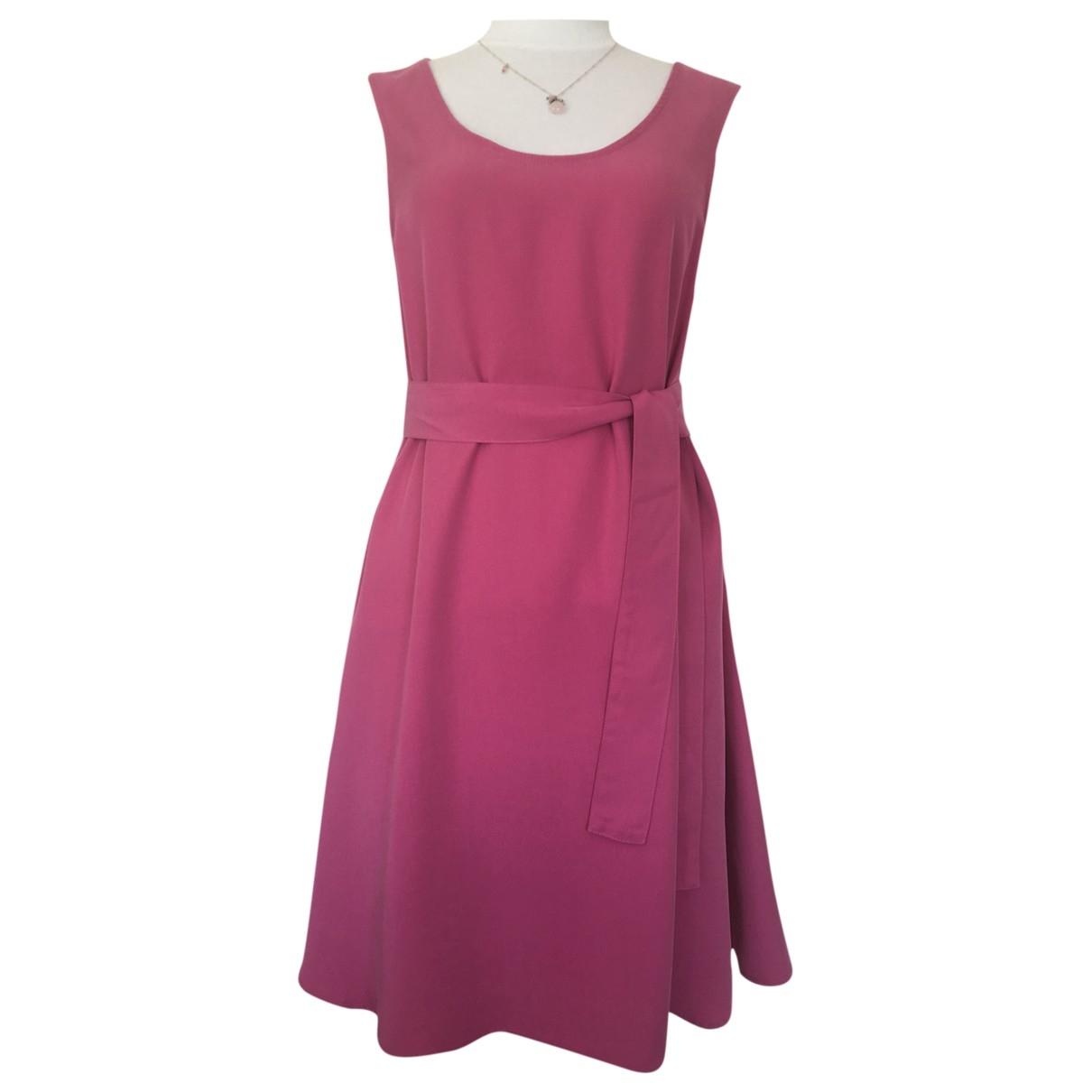 American Vintage \N Kleid in  Rosa Baumwolle