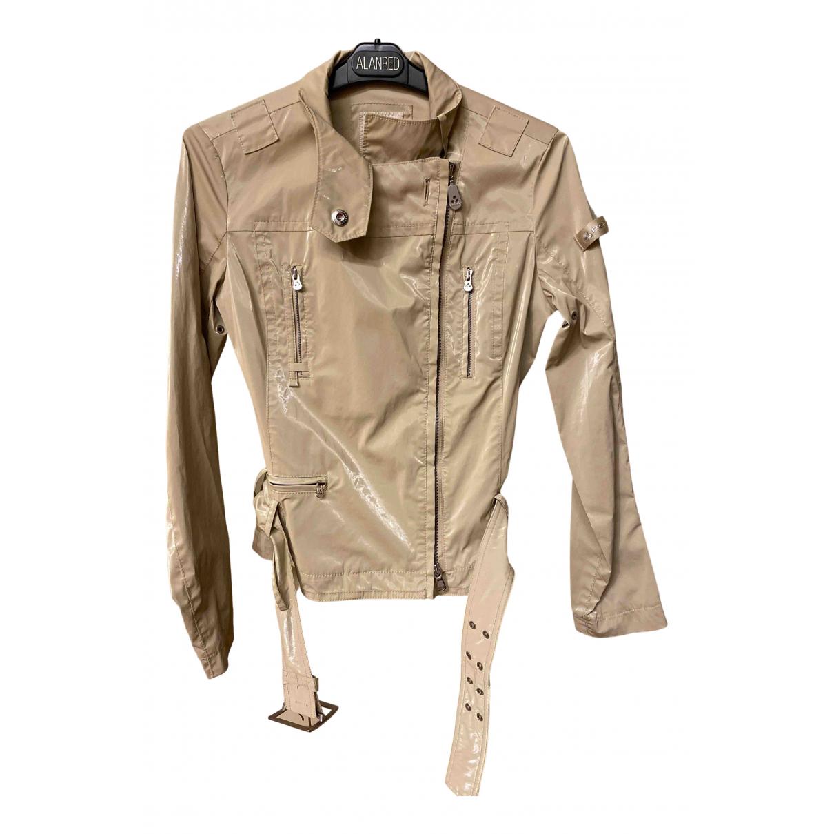 Peuterey N Beige Cotton jacket for Women 40 IT