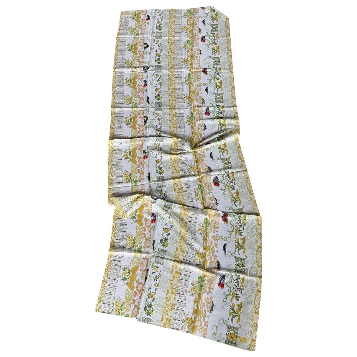 Moschino - Foulard   pour femme en coton - multicolore