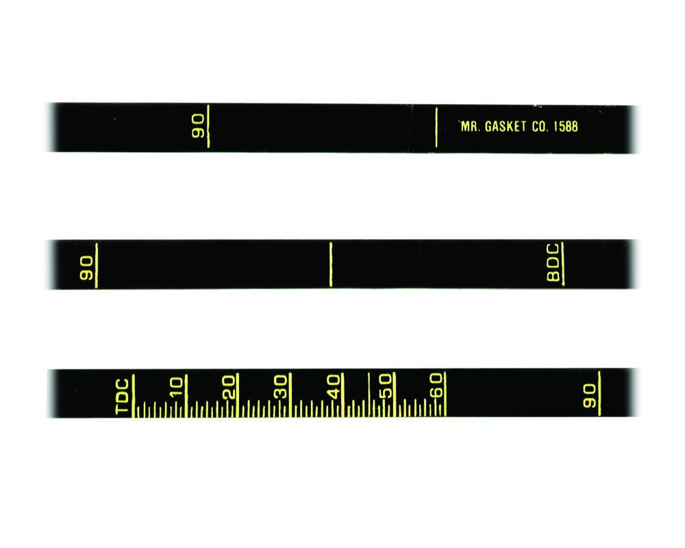 Mr. Gasket Timing Tape
