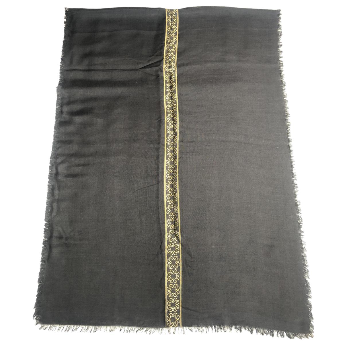 Elie Saab N Black Wool scarf for Women N