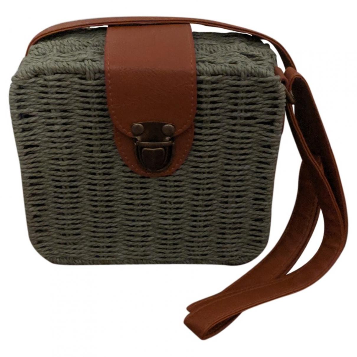 Non Signé / Unsigned \N Green Cotton handbag for Women \N