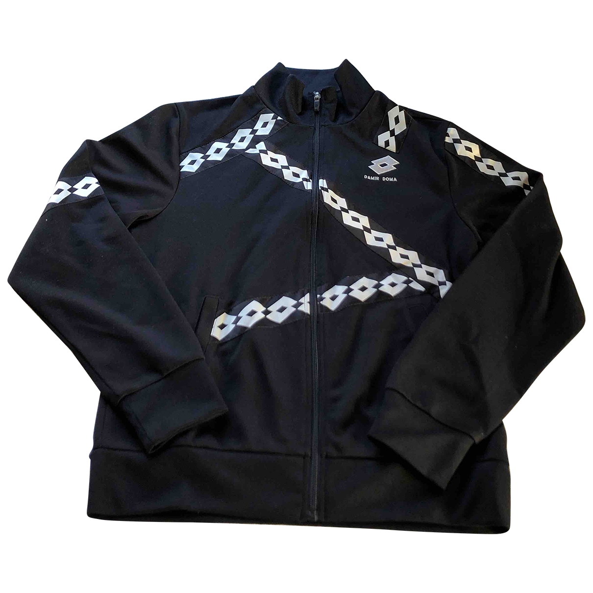 Lotto \N Jacke in  Schwarz Polyester