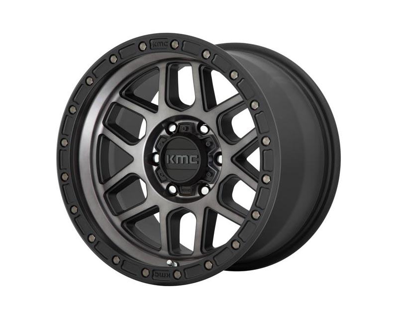KMC Mesa Wheel 20x9 6X5.5 18mm Satin Black w/Gray Tint