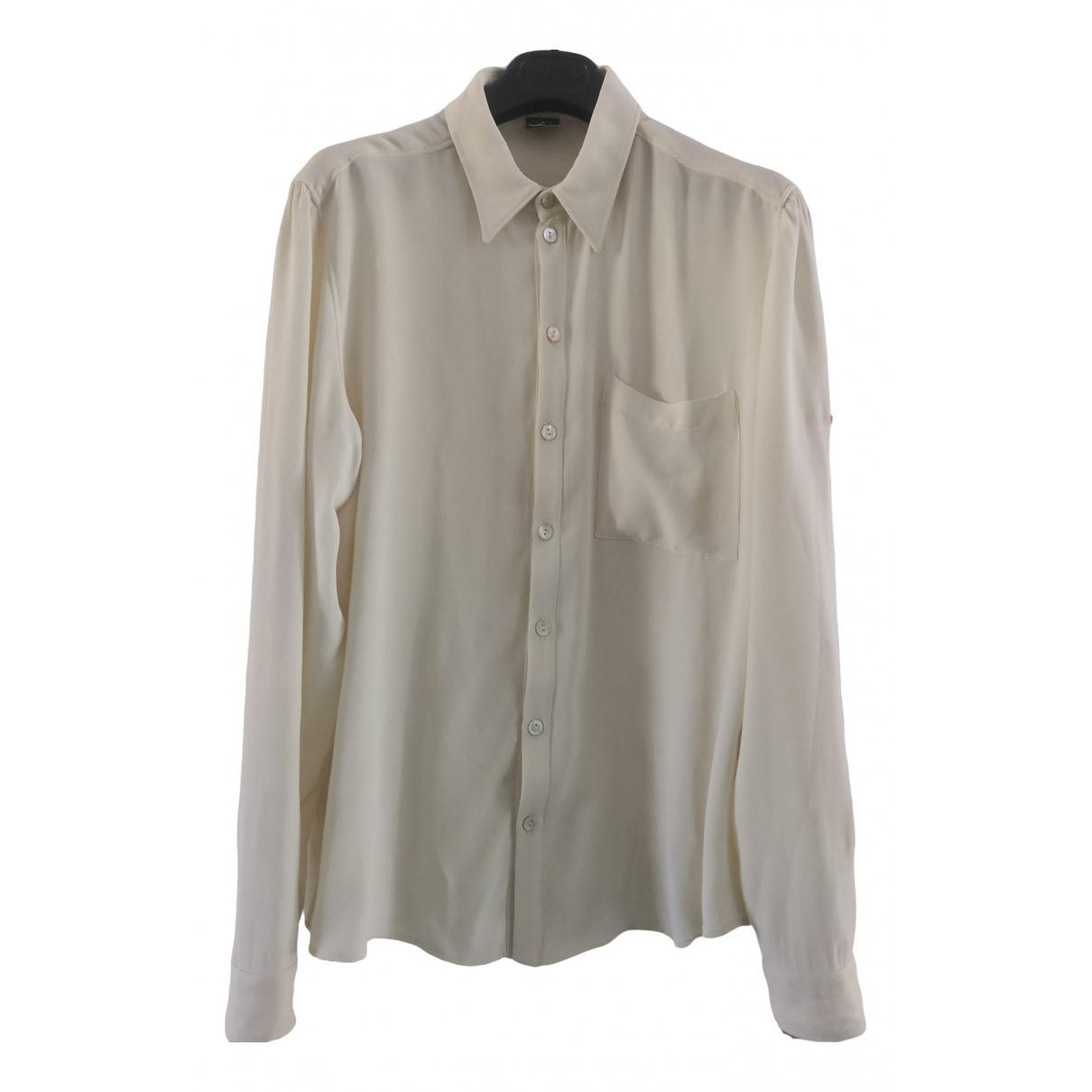 Jean Paul Gaultier - Chemises   pour homme - ecru