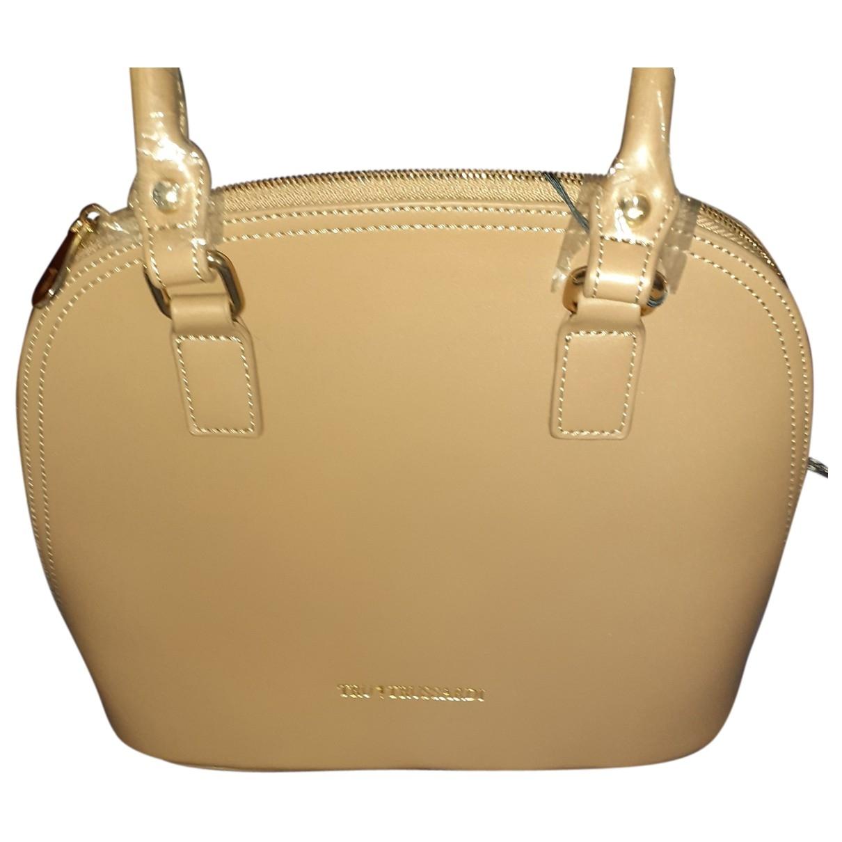 Trussardi \N Handtasche in  Kamel Leder