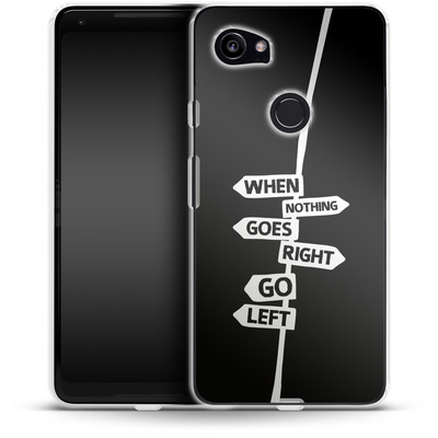 Google Pixel 2 XL Silikon Handyhuelle - When Nothing Goes Right von We Make The Cake