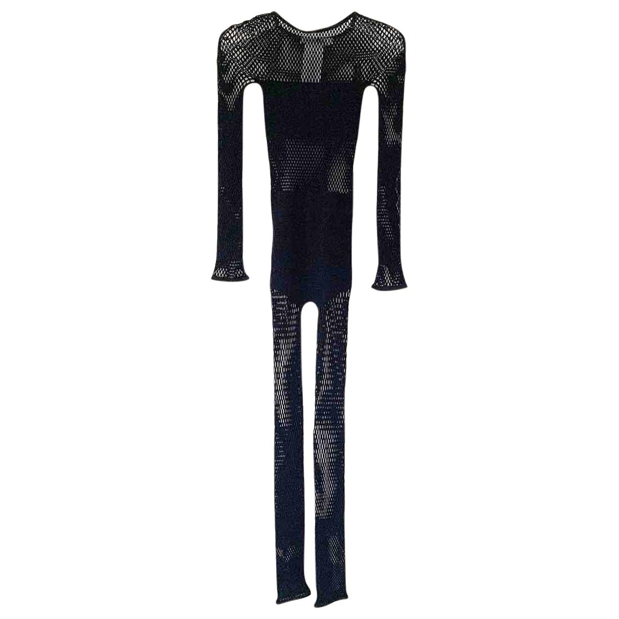 Dior \N Jumpsuit in  Schwarz Synthetik