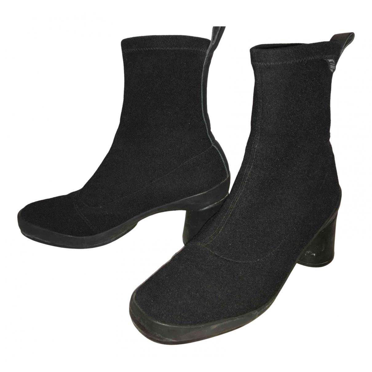 Camper \N Black Cloth Boots for Women 39 EU