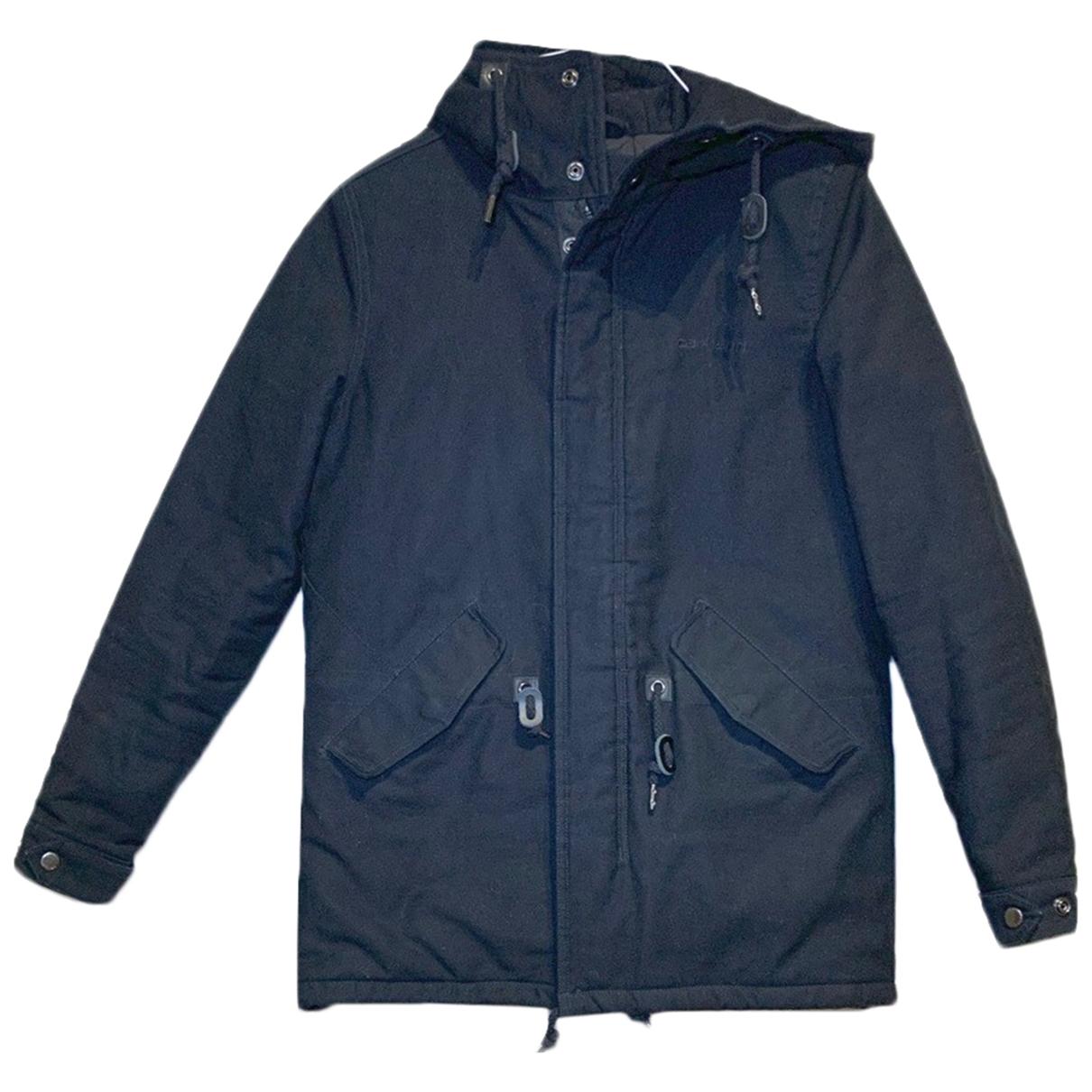 Carhartt - Manteau   pour femme en coton - noir