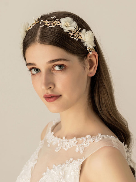 Milanoo Wedding Headpieces Accessory Headwear Metal Bridal Hair Accessories