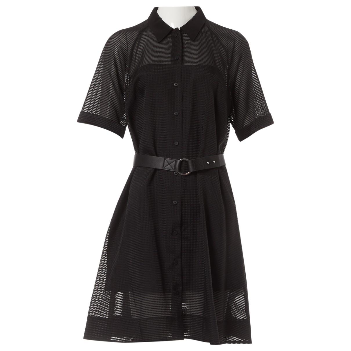 Victoria, Victoria Beckham \N Kleid in  Schwarz Wolle