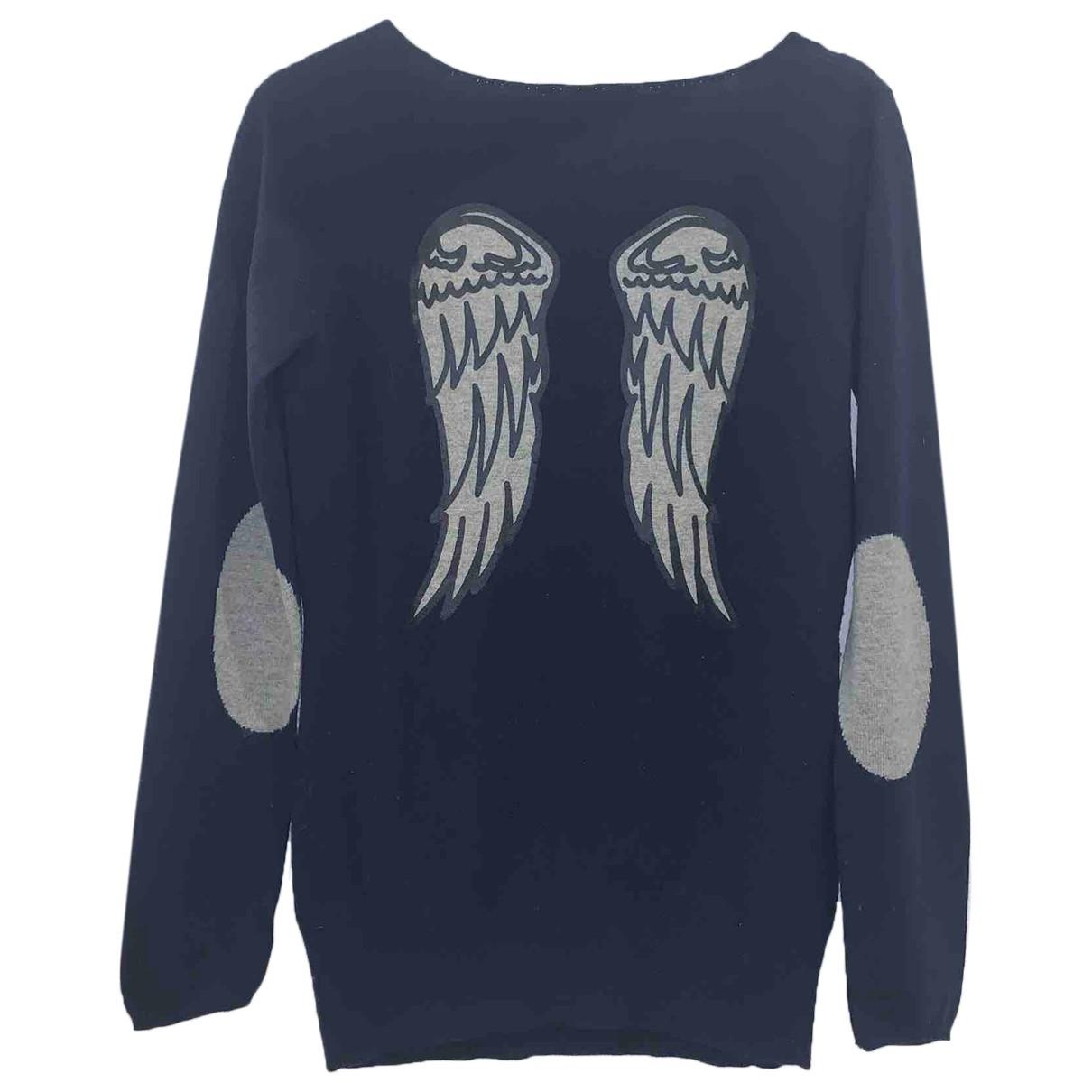Berenice \N Pullover in  Blau Wolle
