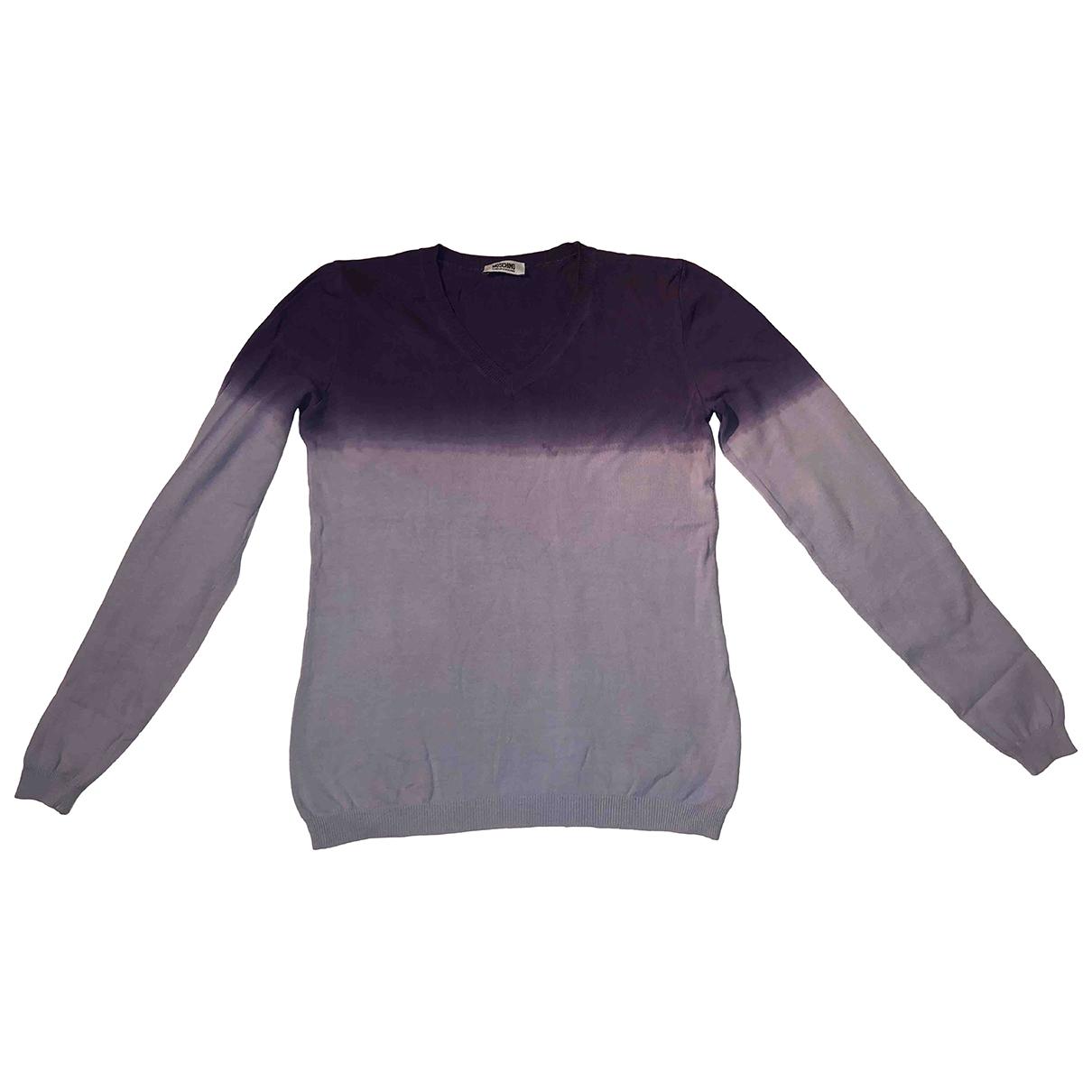 Moschino Cheap And Chic - Top   pour femme en coton - violet