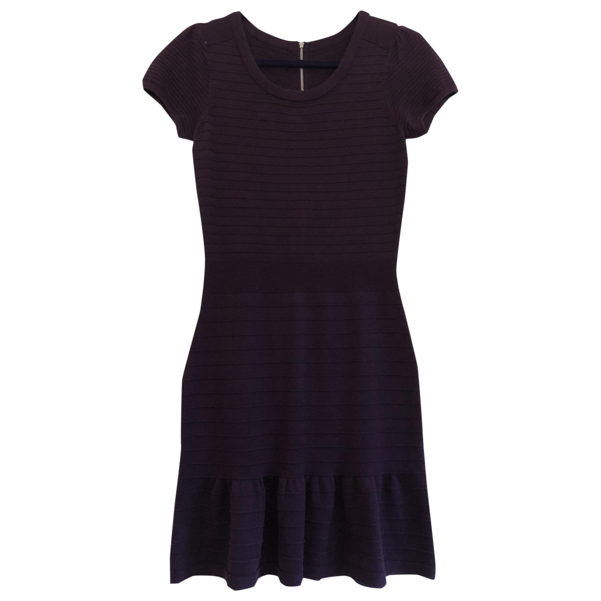 Sandro \N Purple Wool dress for Women M International