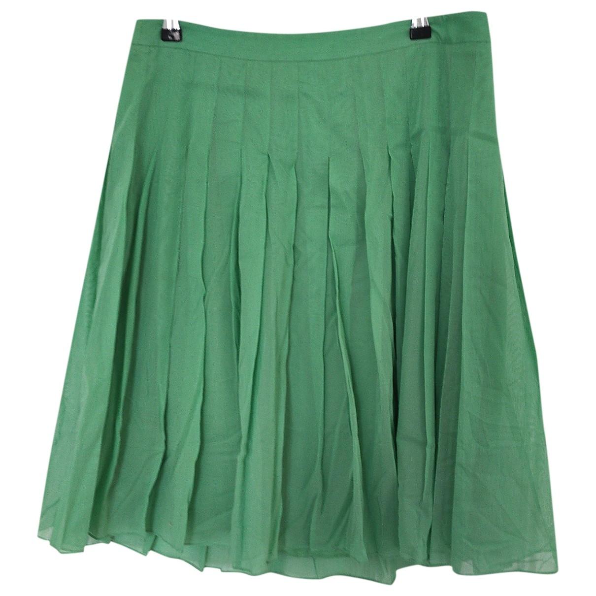 Theory - Jupe   pour femme en coton - vert