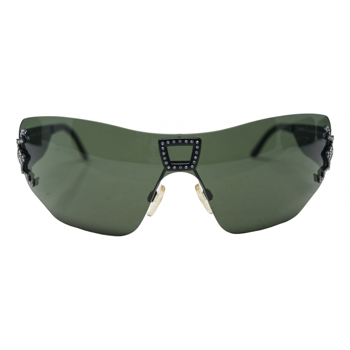 Cesare Paciotti \N Green Metal Sunglasses for Women \N