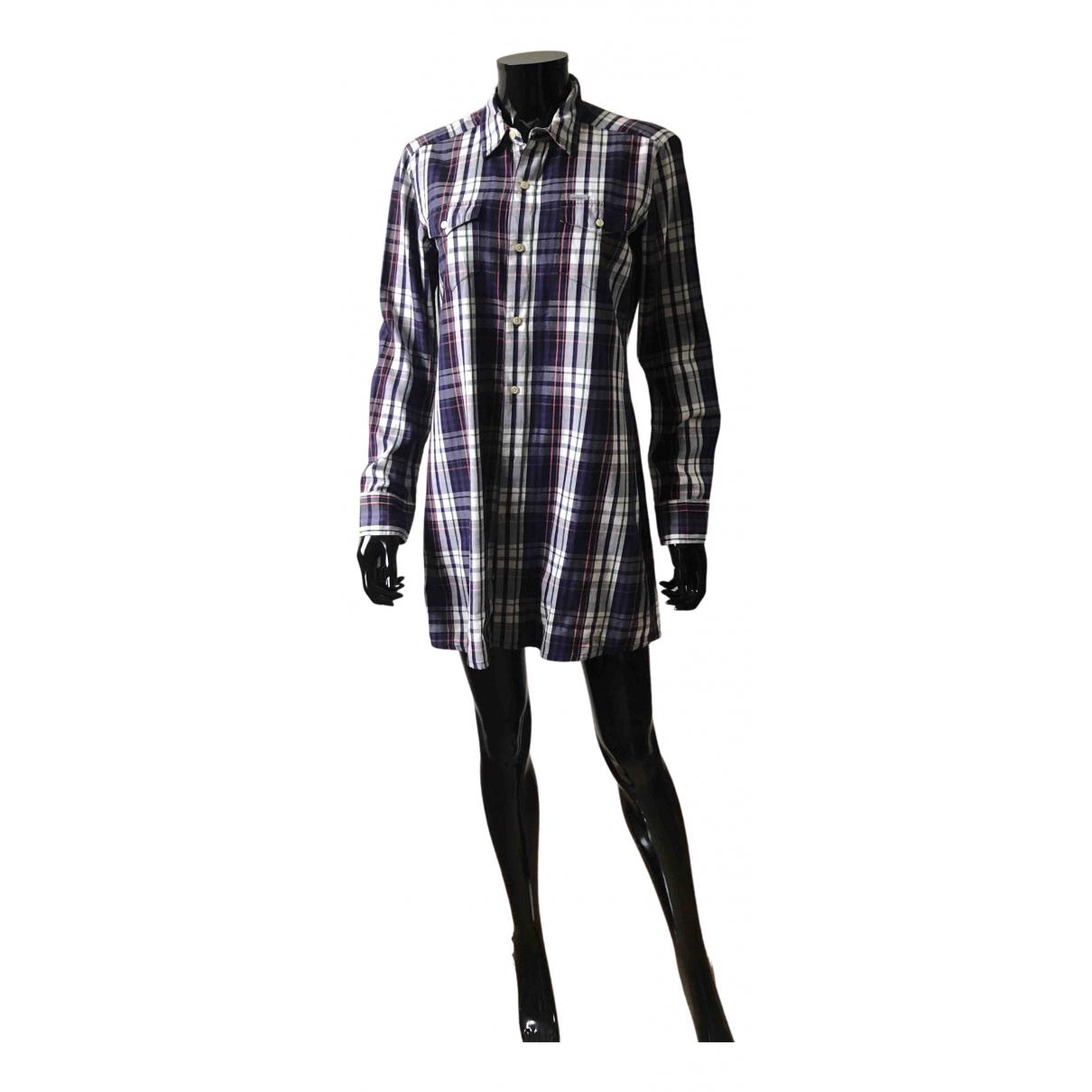 Carhartt \N Kleid in  Lila Baumwolle