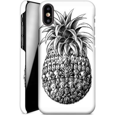 Apple iPhone XS Smartphone Huelle - Ornate Pineapple von BIOWORKZ