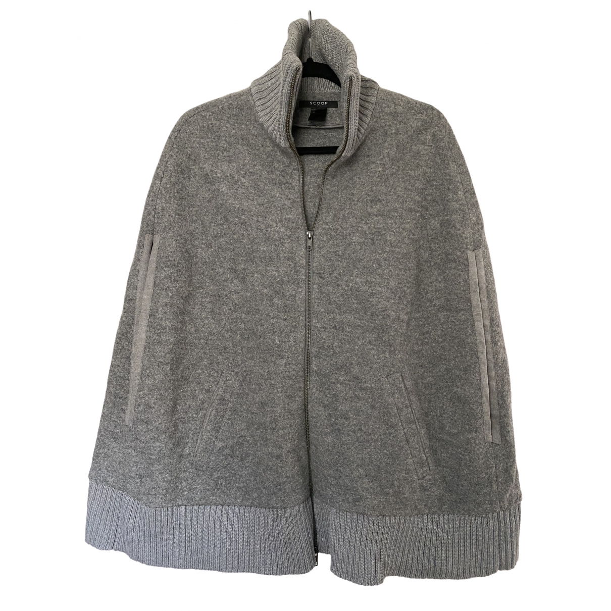 Scoop \N Grey Wool jacket for Women S International