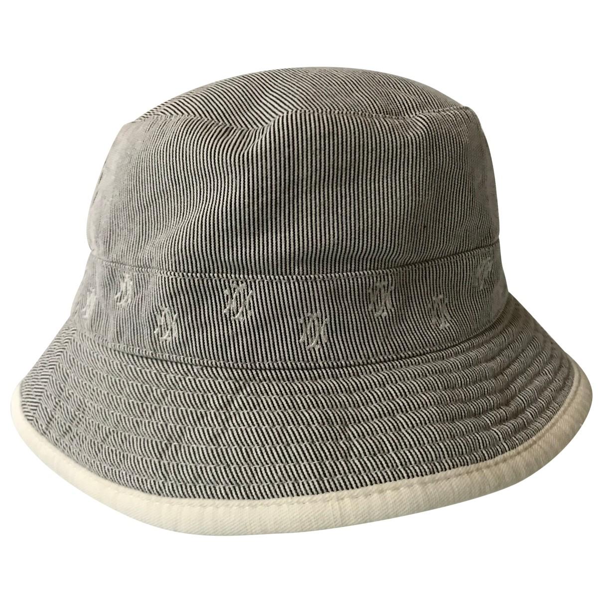 Hermes - Chapeau   pour femme en coton - beige