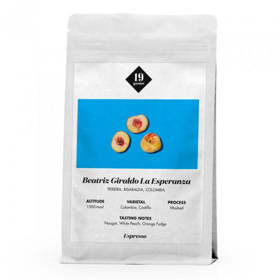 """Kaffeebohnen 19 grams  """"Beatriz Giraldo La Esperanza Espresso"""", 1 kg"""
