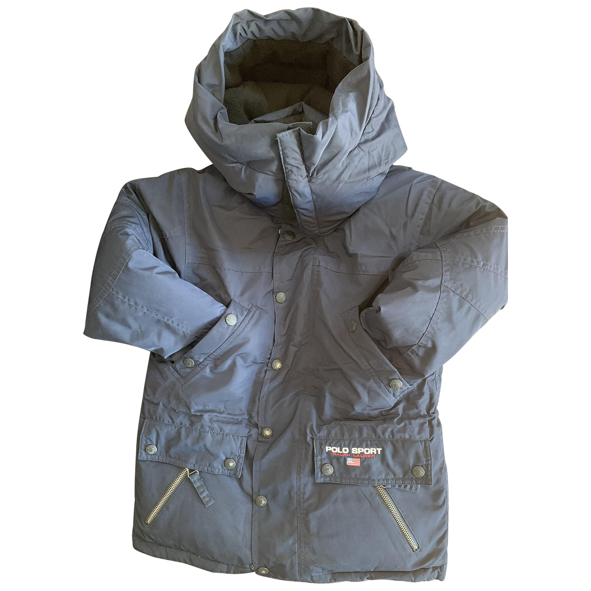Polo Ralph Lauren \N Blue Cotton jacket & coat for Kids 5 years - until 42.5 inches UK