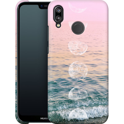 Huawei P20 Lite Smartphone Huelle - Moontime Beach von Emanuela Carratoni
