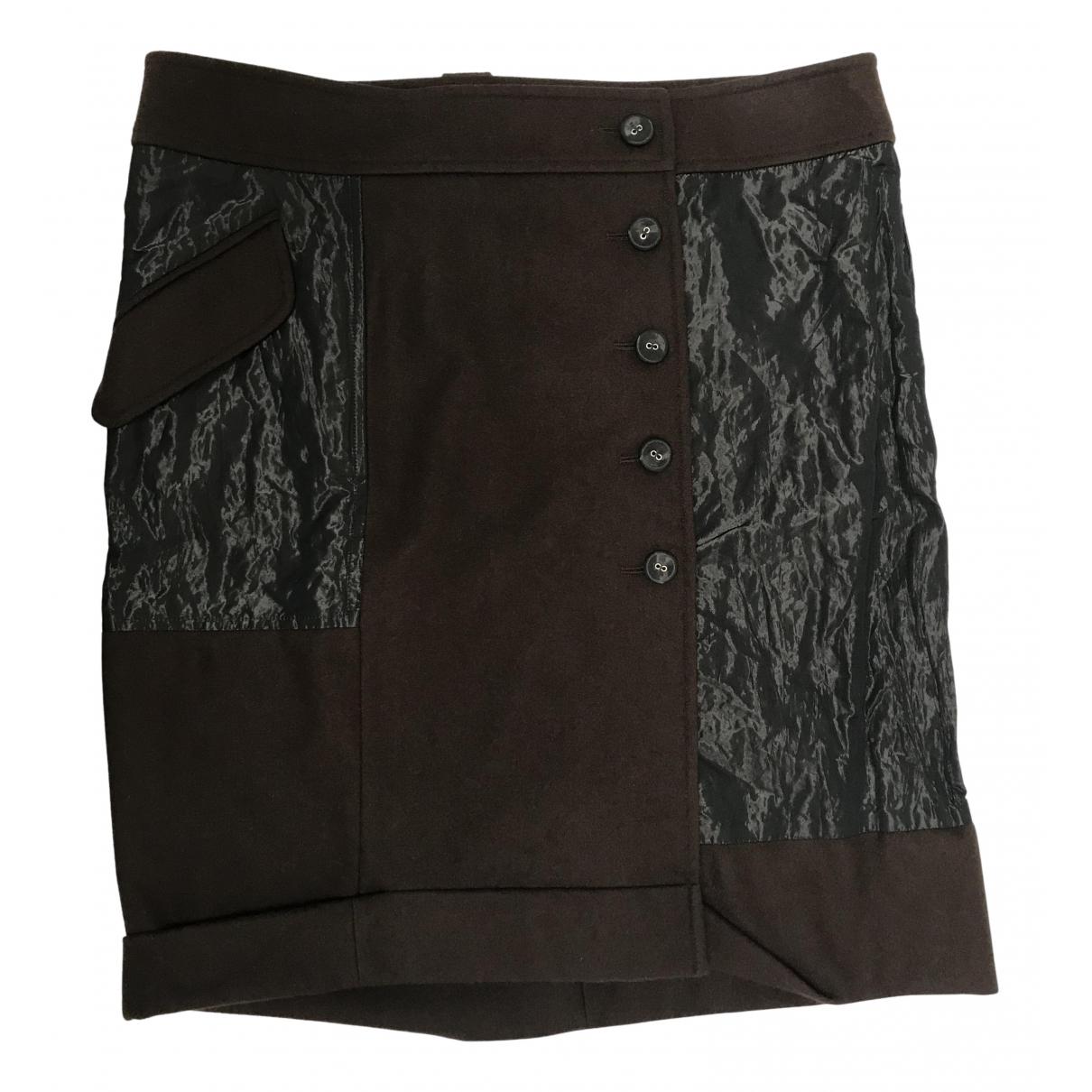 Dior \N Rocke in  Braun Wolle