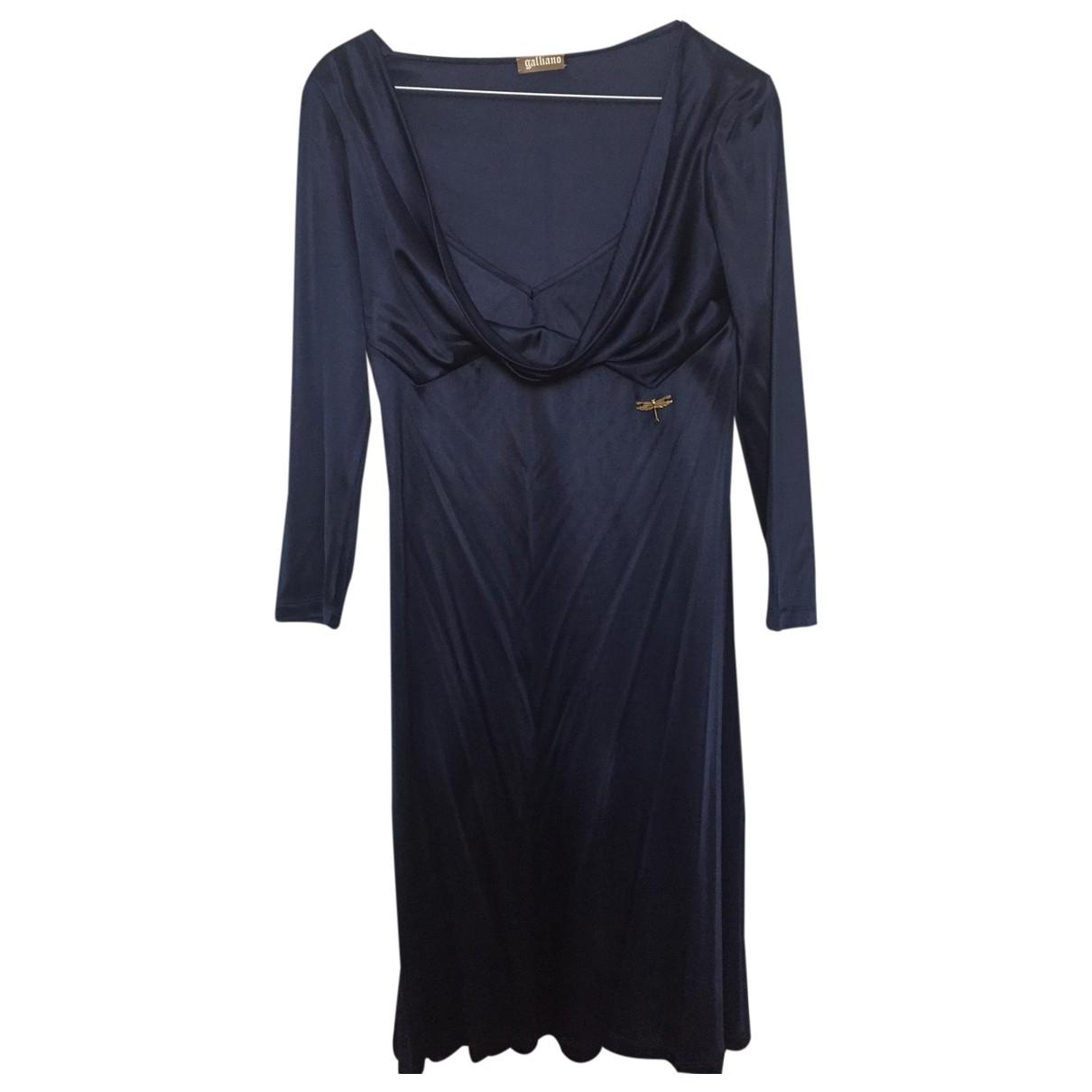 Galliano - Robe   pour femme - bleu
