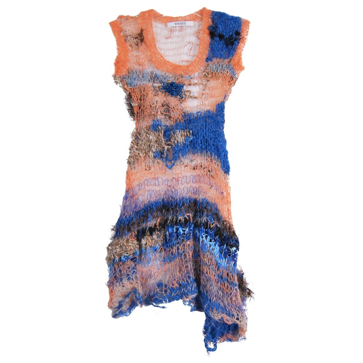 Rodarte - Robe   pour femme en laine - multicolore