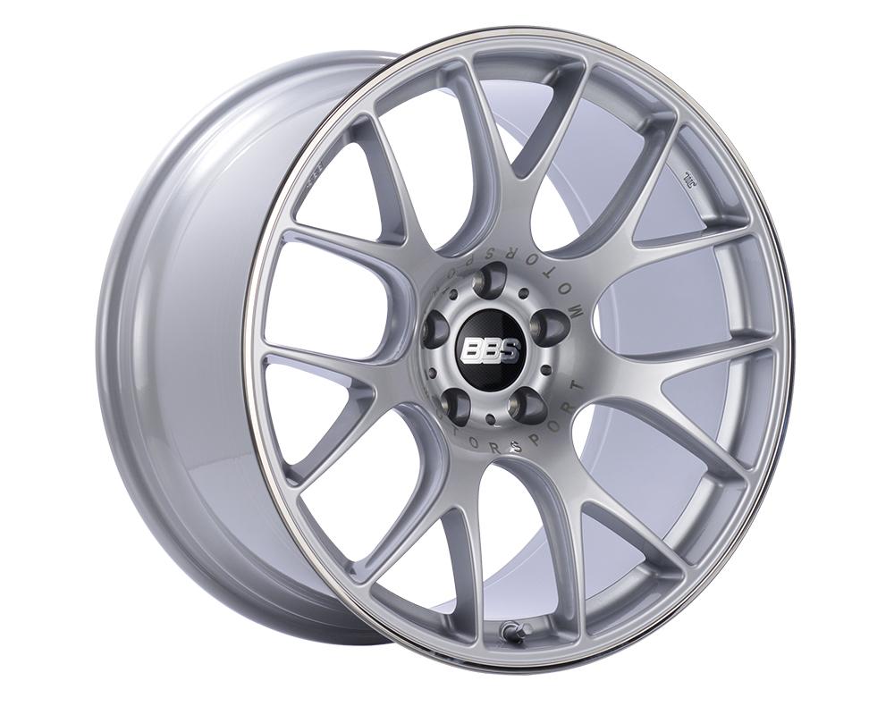 BBS CH-R Wheel 19x12 5x130 45mm Brilliant Silver | Polished Rim