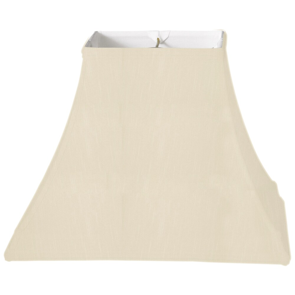 Royal Designs Square Bell Gallery Basic Lamp Shade, Beige, 7 x 14 x 10 (Color)