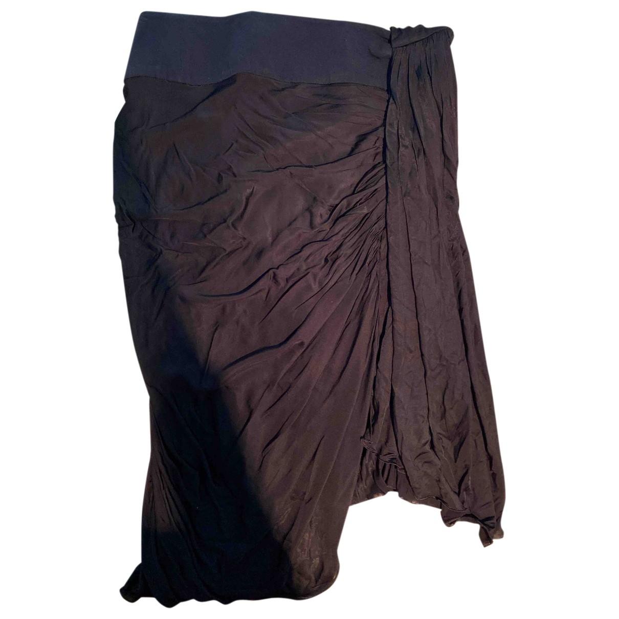 Falda midi de Seda Emilio Pucci