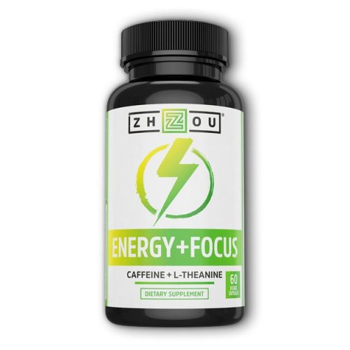 Energy + Focus 60 Veg Caps by Zhou Nutrition