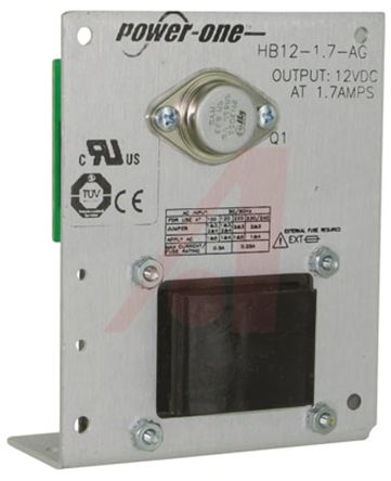 BEL POWER SOLUTIONS INC Embedded Linear Power Supply Open Frame, 100 → 264V ac Input, 12V Output, 1.7A, 20.4W