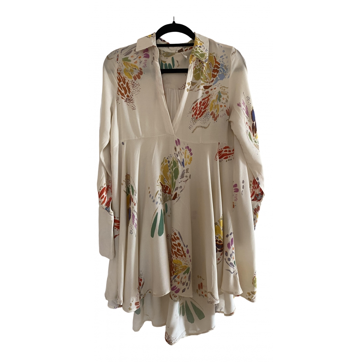 Free People \N Beige dress for Women S International