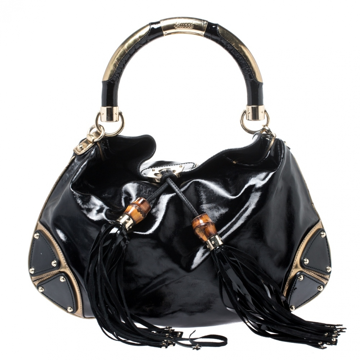 Gucci Indy Patent leather handbag for Women \N