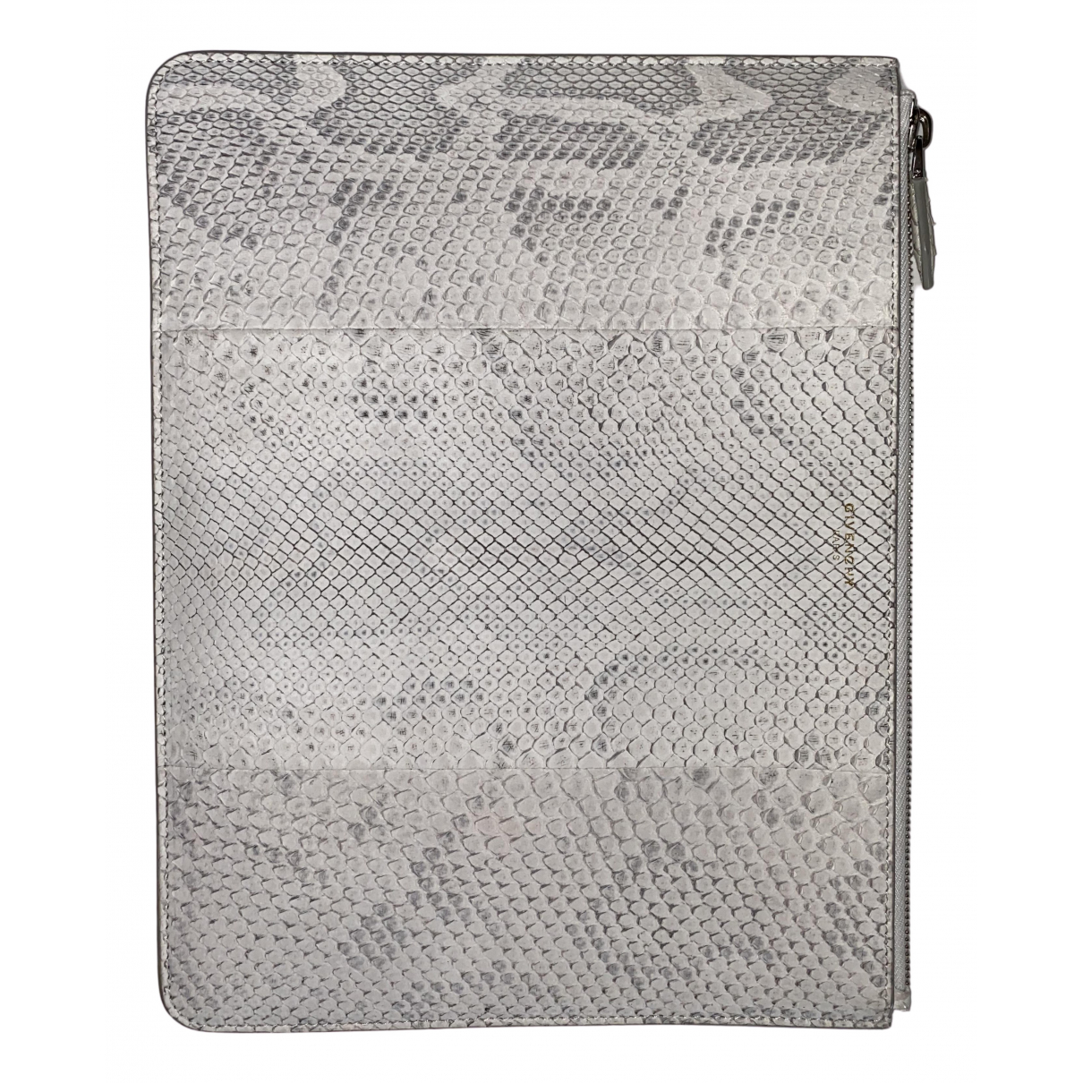 Givenchy \N Clutch in  Weiss Python