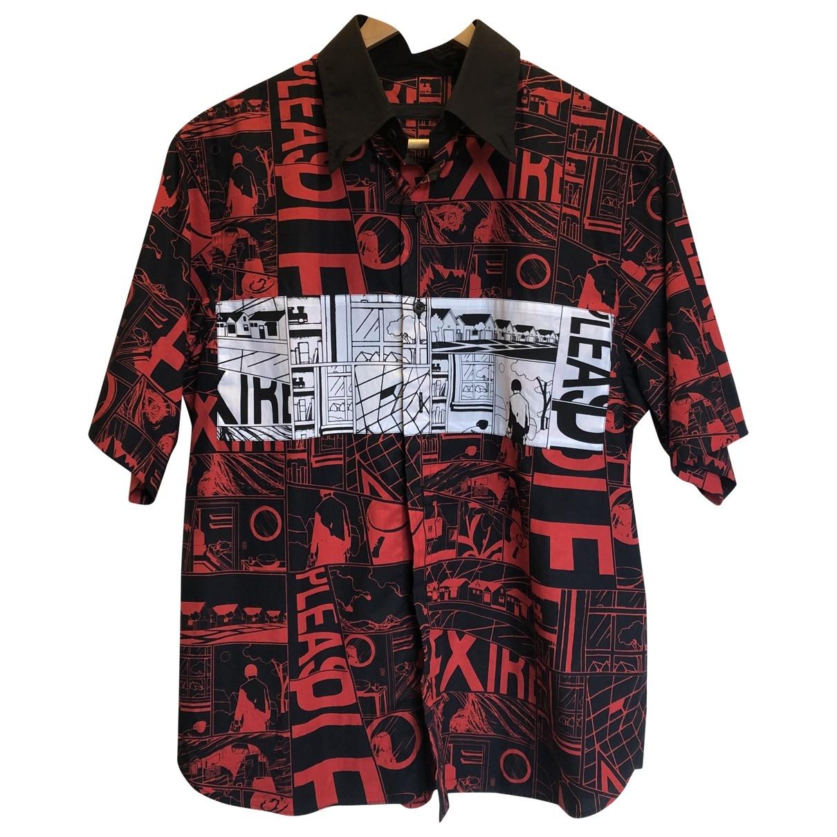 Prada - Chemises   pour homme en coton - rouge
