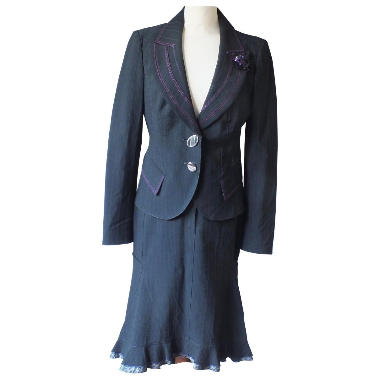 Maria Grazia Severi \N Black Wool jacket for Women 10 UK