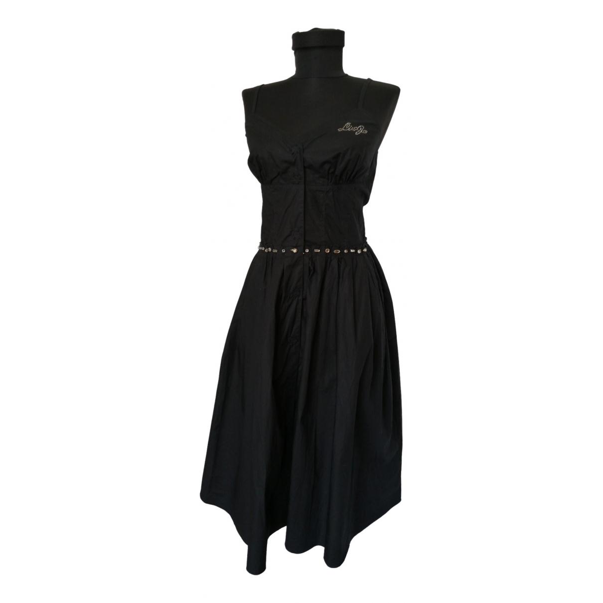 Liu.jo \N Black Cotton dress for Women 44 IT