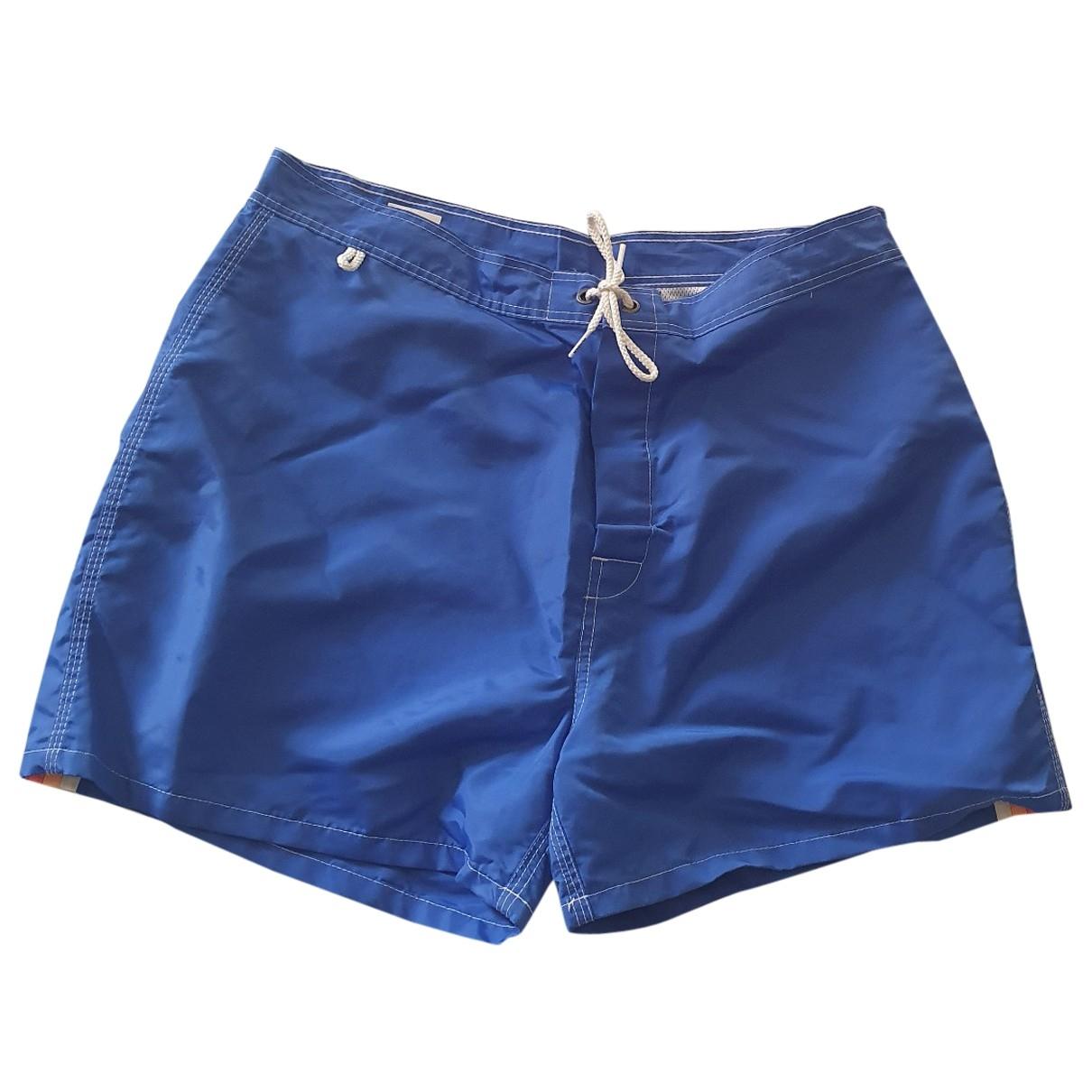 Sundek \N Badeanzug in  Blau Polyester