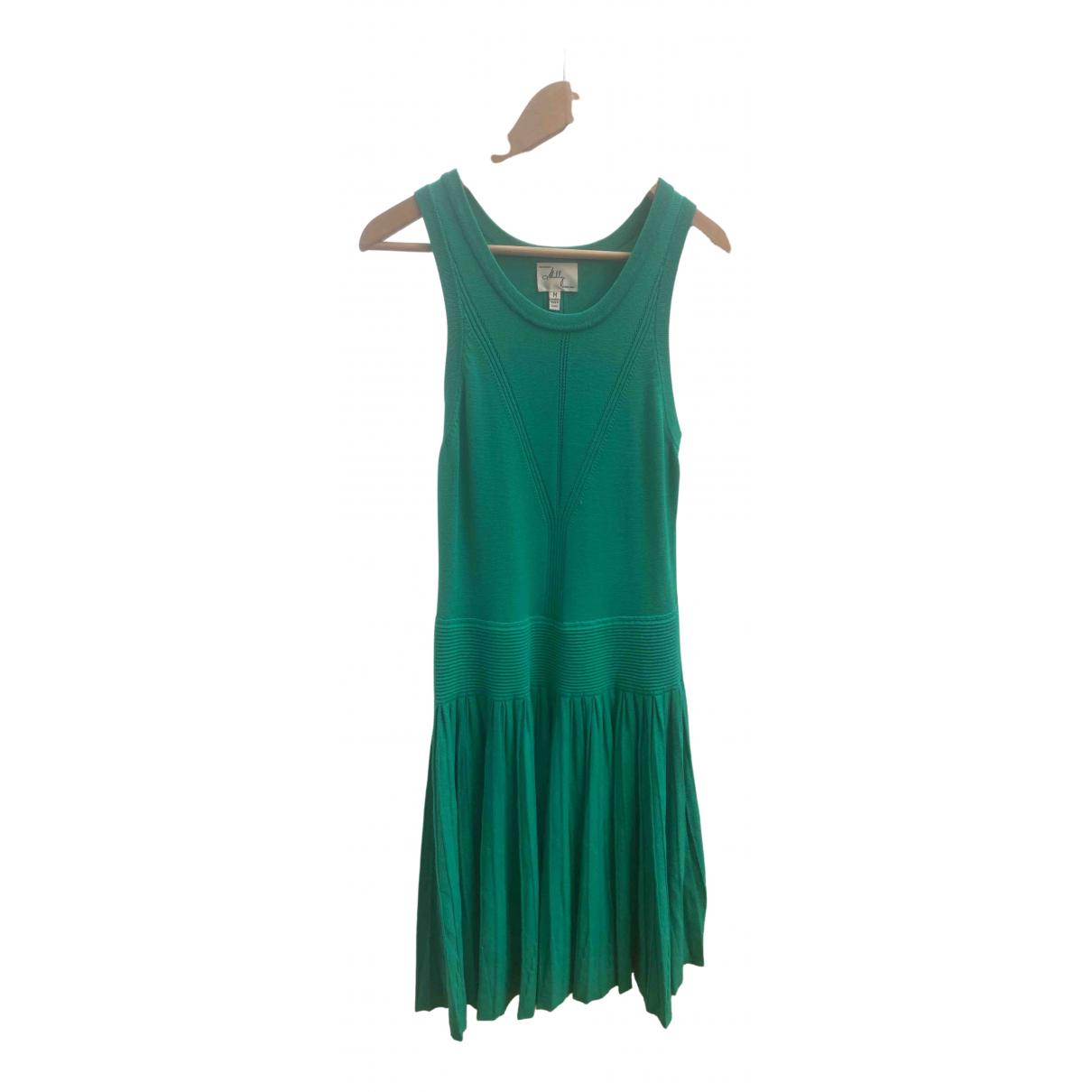 Milly \N Kleid in  Gruen Viskose