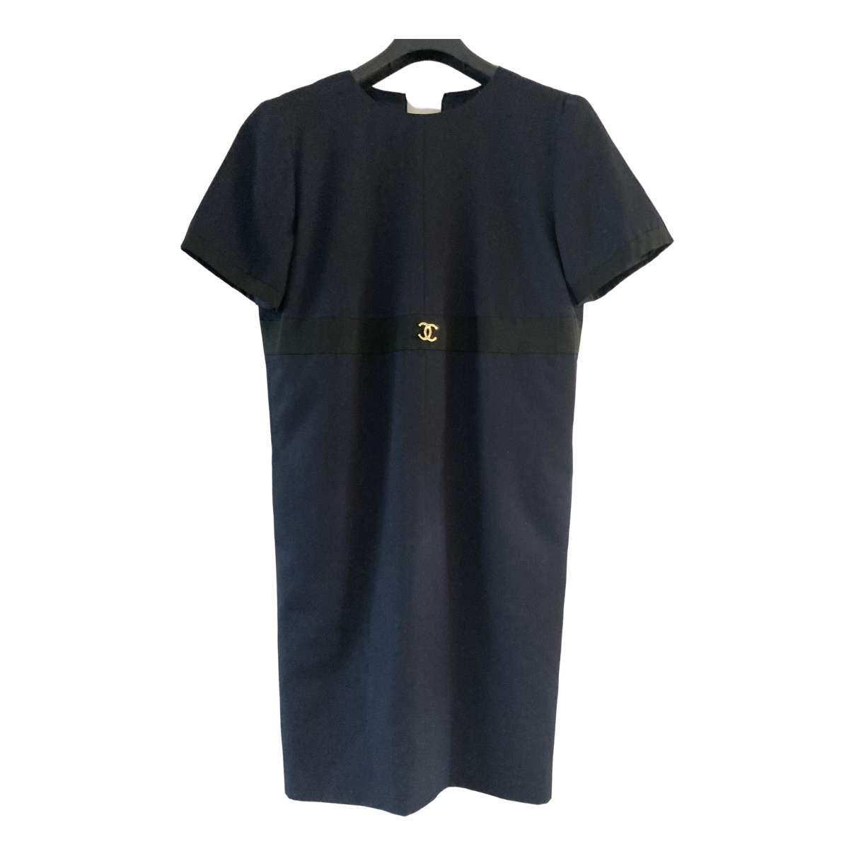 Chanel \N Kleid in  Blau Polyester