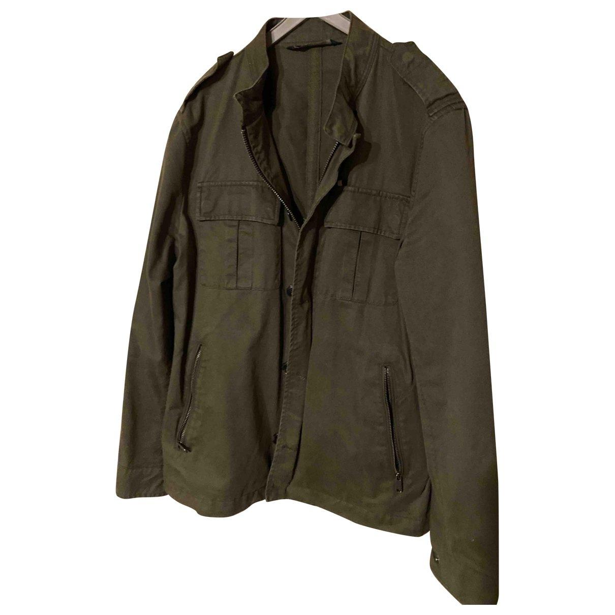 Zara - Vestes.Blousons   pour homme en coton - vert