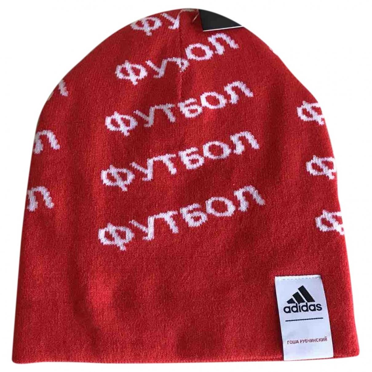 Adidas X Gosha Rubchinskiy \N Hut, Muetzen in  Rot Polyester