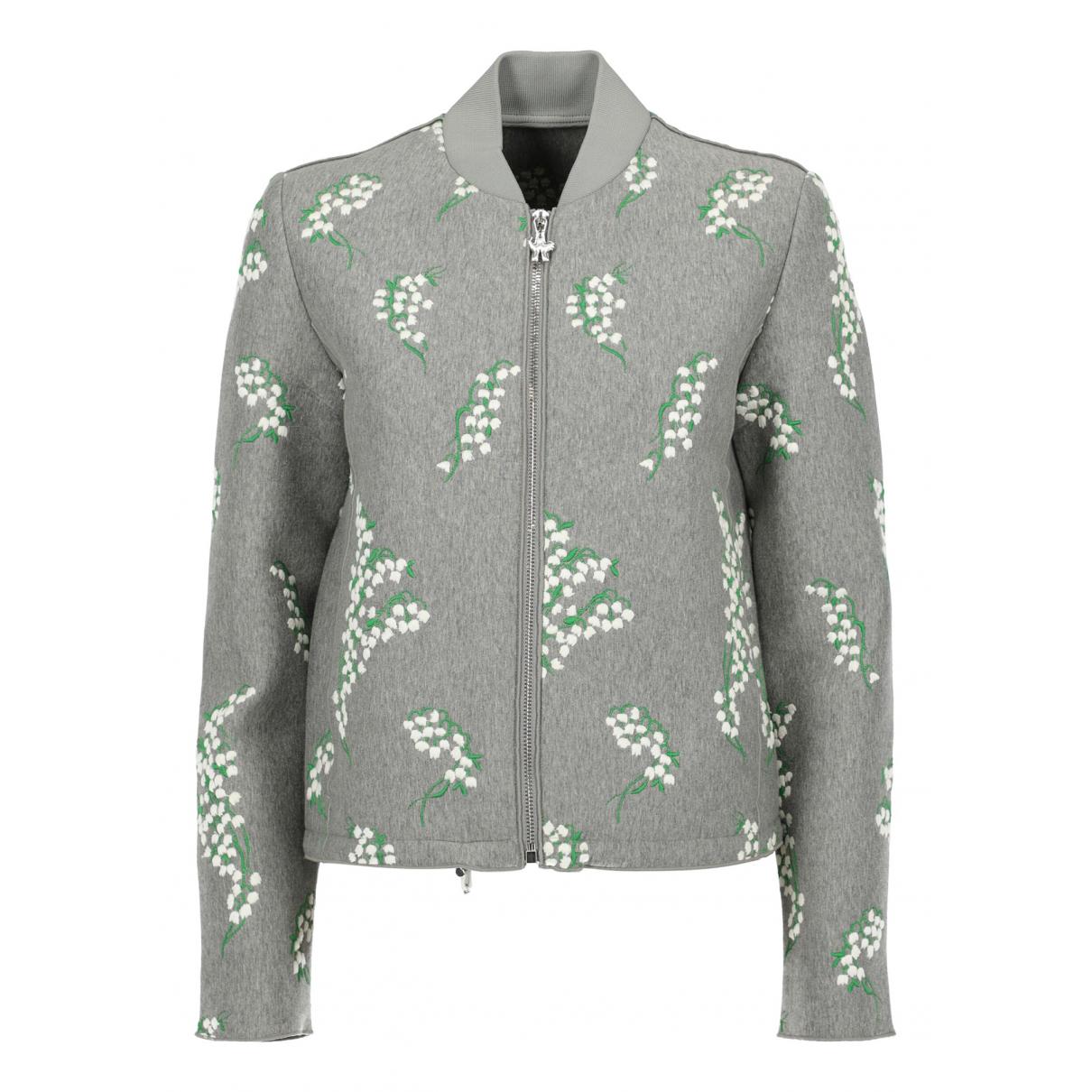 Moncler - Veste   pour femme en coton - gris