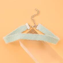 Einfarbige Halskette